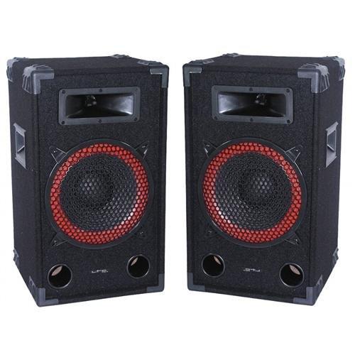 Ibiza Kompakt Monitor 2-Wege PA-Box Klinke/Klemmanschluss robust