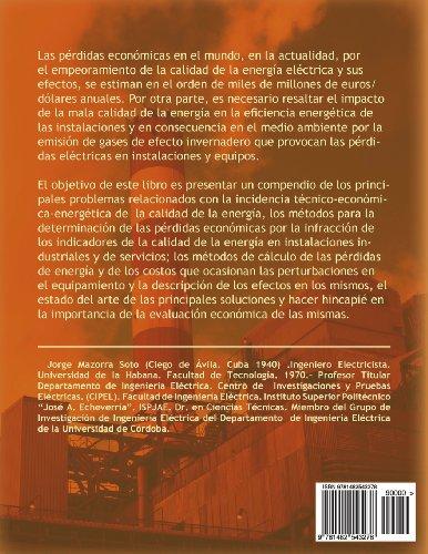 Calidad de La Energia Electrica: Incidencia Tecnico-Economica-Energetica y Ambiental En Empresas Industriales y de Servicios