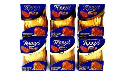 Terry's Milk Chocolate Orange Ball, 6.17-Ounce Boxes (Packaging May Vary) by Terry's Poland Distributed by Kraft Foods [Foods]