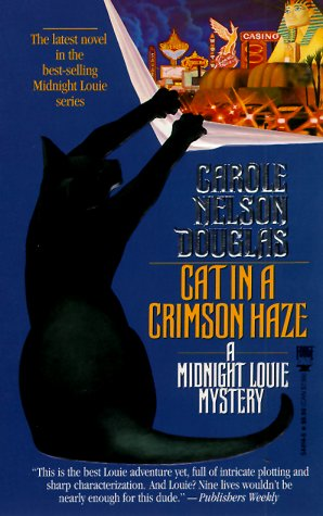 Cat in a Crimson Haze: A Midnight Louie Mystery (Midnight Louie Mysteries)