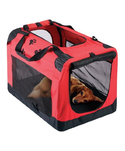 Portable Pet House Travel Case – Orange