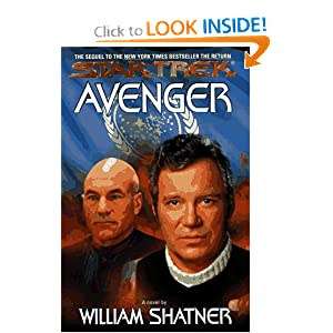 Star Trek: Avenger by William Shatner, Judith Reeves-Stevens and Garfield Reeves-Stevens
