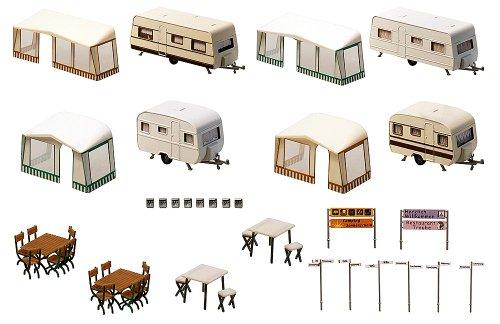 FALLER-130503-Camping-Wohnwagen-Set