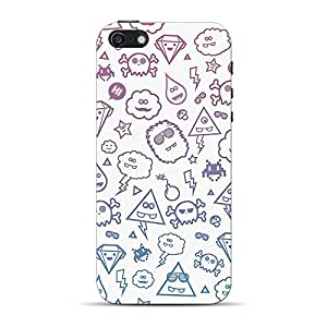 Mobile Back Cover For Apple iPhone 5 (Printed Designer Case)