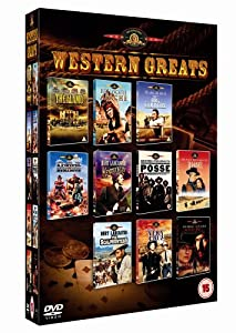 The Mgm Western Greats Collection 10 Disc Box Set Dvd