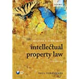 Holyoak and Torremans Intellectual Property Lawby Paul Torremans