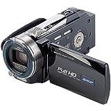 Somikon DV-883.IR Full HD-Camcorder mit Infrarot-LED (5 Megapixel CMOS Sensor, 10-fach opt. Zoom, 7,6 cm (3 Zoll) TFT-Display, HDMI, SD/SDHC-Kartenslot)