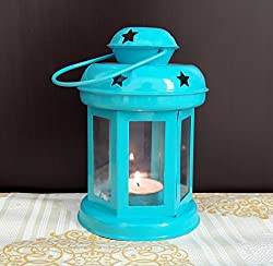 TiedRibbons® Christmas Items For Decoration Home decor Tealight holders Lantern(6 Inch X 3.7 Inch)