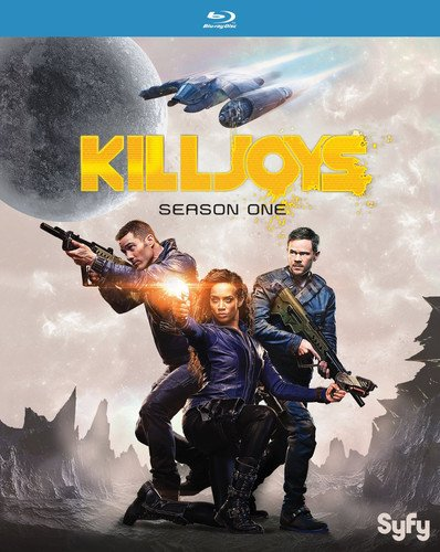 Blu-ray : Killjoys: Season One (Ultraviolet Digital Copy, 2 Pack, Snap Case, Slipsleeve Packaging, Digitally Mastered in HD)
