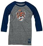Auburn Tigers adidas Originals Women's Vintage Mascot 3/4 Sleeve Tri-Blend T-Shirt