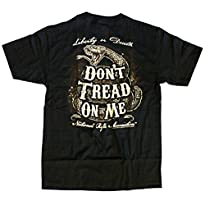 NRA - Don't Tread On Me Snake T-Shirt