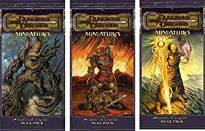 Dungeons and Dragons Miniatures: Giants of Legend Huge Pack