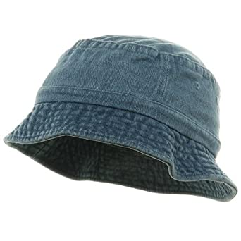 Amazon.com: Youth Pigment Dyed Bucket Hat-Apple Green ...