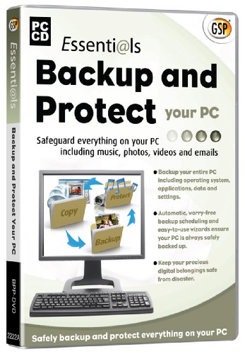 Essentials Backup & Protect Your PC (PC CD), PC
