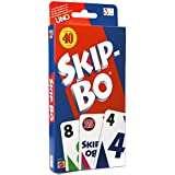 Mattel Games 42050 Skip Bo Card Game (Pack of 2)