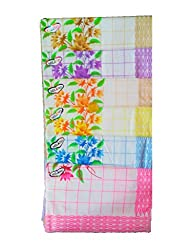 Milano Floral Print cotton Ladies hankies (12 pcs)