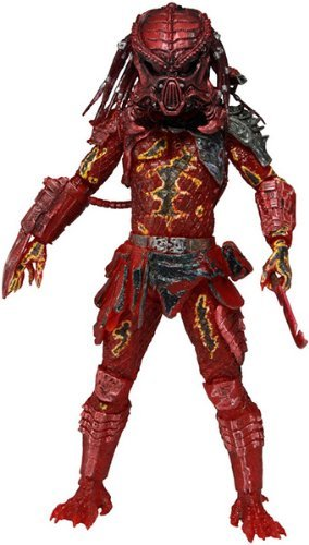 Predator series 10 - Lava Planet Predator 7inch Action Figure
