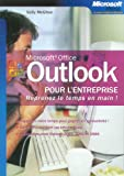 img - for Microsoft Outlook pour l'entreprise (French Edition) book / textbook / text book
