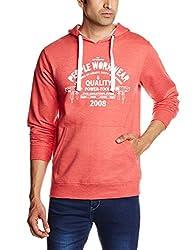 People Men's Cotton Sweatshirt (8903880777920_P10101358027316_Small_Red)