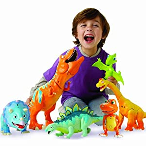 Dinosaur Train Roar 'n' React Boris Tyrannosaurus Ultimate T-Rex