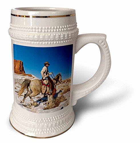 Danita Delimont - Cowgirls - Cowgirl, horses, Hideout Ranch, Shell, Wyoming - US51 JRE0064 - Joe Restuccia III - 22oz Stein Mug (stn_97355_1)