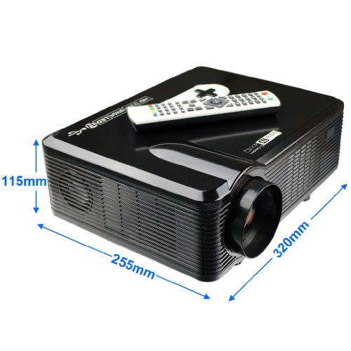Cl720 3000 Lumens Hd Home Theater Multimedia Lcd Projector: CL720 3000 Lumen HD Home Theater Multimedia LCD Projector