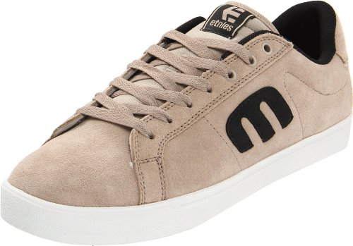 Etnies Men's Brava Suede Warm Grey/Black Lace Up 4101000332 8 UK, 9 US