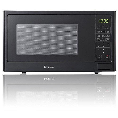 Kenmore 0.9 cu. ft. Countertop Microwave Oven - Black (Kenmore Microwave Black compare prices)