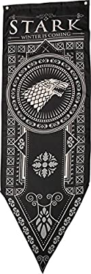 "Game of Thrones House Stark Tournament Banner, 18""x 60"" by Game of Thrones"
