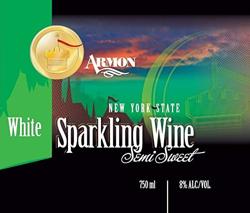 Nv Armon New York White Sparkling 750 Ml