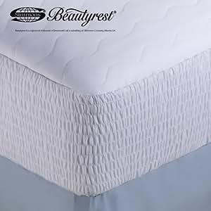 beautyrest cotton mattress pad twin xl home kitchen. Black Bedroom Furniture Sets. Home Design Ideas