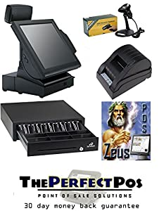 Retail POS Touch Screen Bundle - Featuring Retail ZeusPOS Software