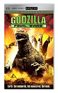 "Cover of ""Godzilla: Final Wars [UMD for P..."