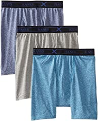 Hanes Men's 3 Pack Ultimate X-Temp As…