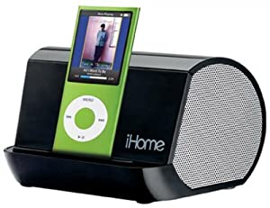 iHome iHM9 Portable Stereo System for iPod, iPhone, and MP3 Players (Black)