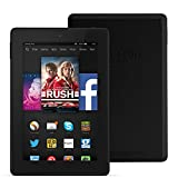 "Fire HD 7, 7"" HD Display, Wi-Fi, 8 GB (Black) - Includes Special Offers"