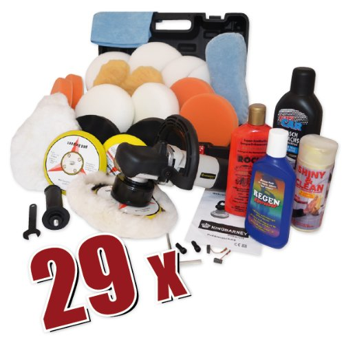 CAR BOAT POLISHER Dual Action KB 710W with set 4, with polishing-set and huge accessories set