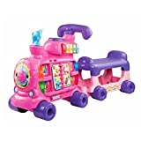 VTech Push and Ride Alphabet Train Pink