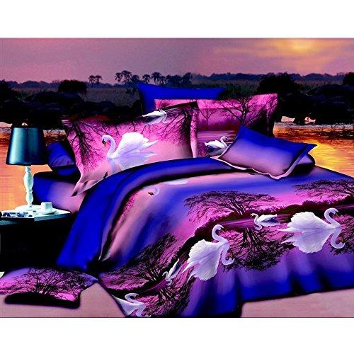 viola-il-lago-dei-cigni-4-pezzi-copripiumino-letto-king-size-3d-set-di-biancheria-da-letto-100-coton