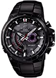 Casio EQWA1000DC-1A Edifice Solar Powered Black Plated Atomic Watch