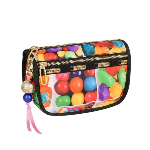 Dylan's Candy Bar LeSportsac Candy Zip Cosmetic in Sugar Cube