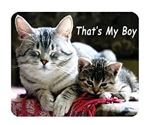 Tabby Cats Mouse Mat, That's My Boy