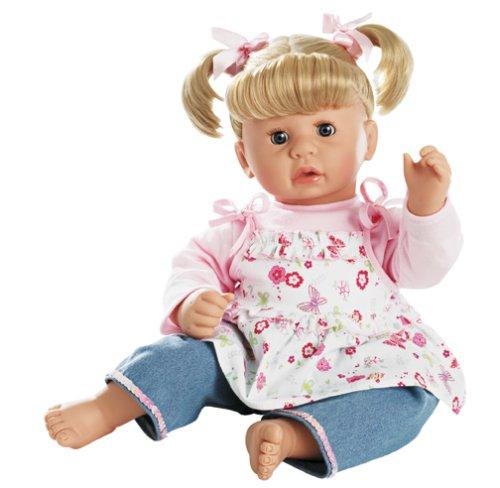 Gotz 19-Inch, COOKIE, WEIGHTED BEAN DOLL, BLONDE HAIR GIRL - Buy Gotz 19-Inch, COOKIE, WEIGHTED BEAN DOLL, BLONDE HAIR GIRL - Purchase Gotz 19-Inch, COOKIE, WEIGHTED BEAN DOLL, BLONDE HAIR GIRL (Gotz, Toys & Games,Categories,Dolls,Baby Dolls)