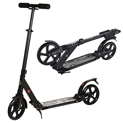 Urban 7xl Deluxe Foldable& Adjustable Teen and Adult Kick Scooter with Double Suspension