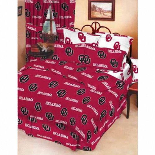 Oklahoma Sooners King Comforter Set