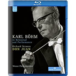 Karl Böhm - In Rehearsal and Performance [Blu-ray]