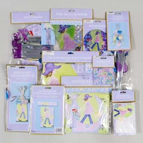 Fashion Mama Baby Shower Party Decor Case Pack 192 front-961123