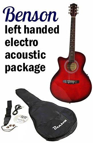 benson-left-handed-electric-electro-semi-acoustic-guitar-bundle-cherryburst