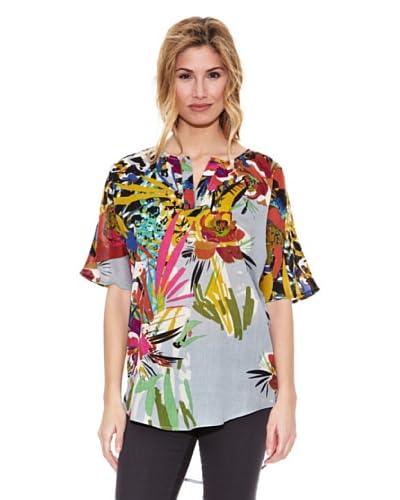 Peace & Love Blusa Floral Multicolor