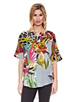 Peace & Love Blusa Floral (Multicolor)